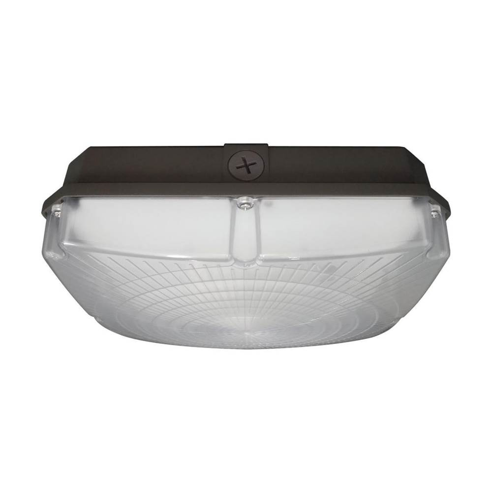 Nuvo LED Canopy Fixture; 40W; 5000K; 120-277V