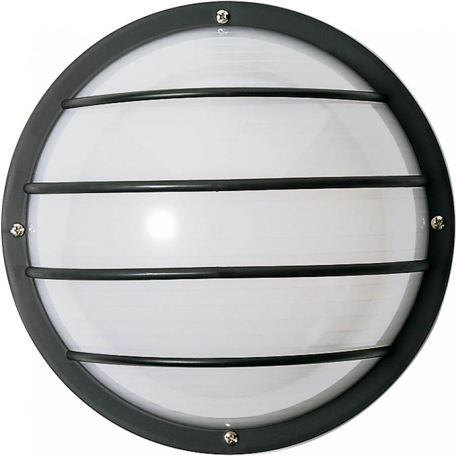Nuvo 1 Light - 10'' - Round Cage Wall Fixture - Polysynthetic Body & Lens