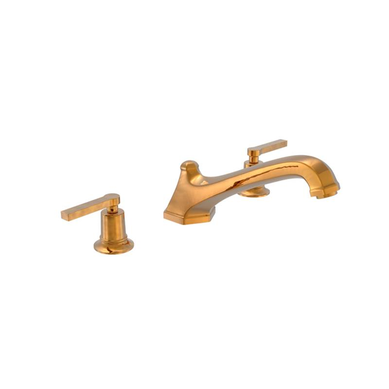 Phylrich D/Tub Set To, Lever Hdl
