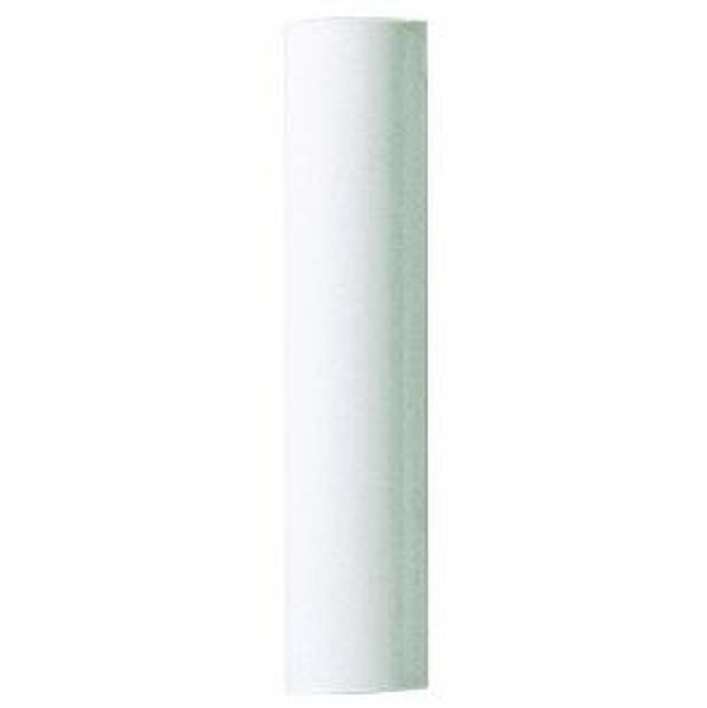 Satco Plastic Candle Cover; White Plastic; 1-3/16'' Inside Diameter; 1-1/4'' Outside Diameter; 36'' Height