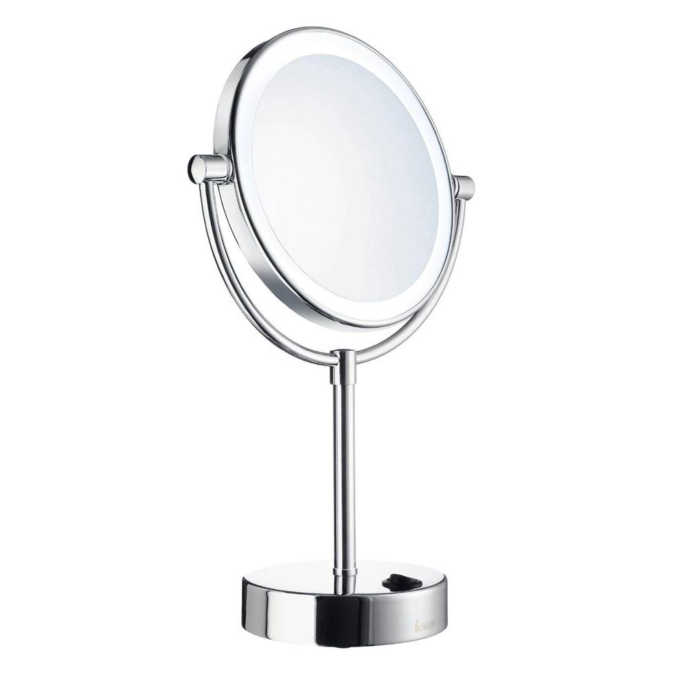 Smedbo OUTLINE Shaving/Make-up Mirror with LED-technology, Dual Light (warm and cool light)