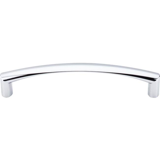 Top Knobs Griggs Pull 5 1/16 Inch (c-c) Polished Chrome