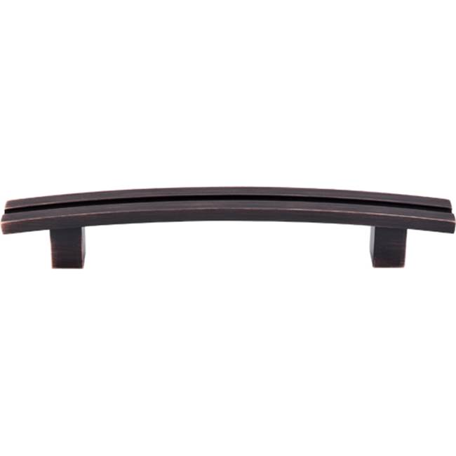 Top Knobs Inset Rail Pull 5 Inch (c-c) Tuscan Bronze