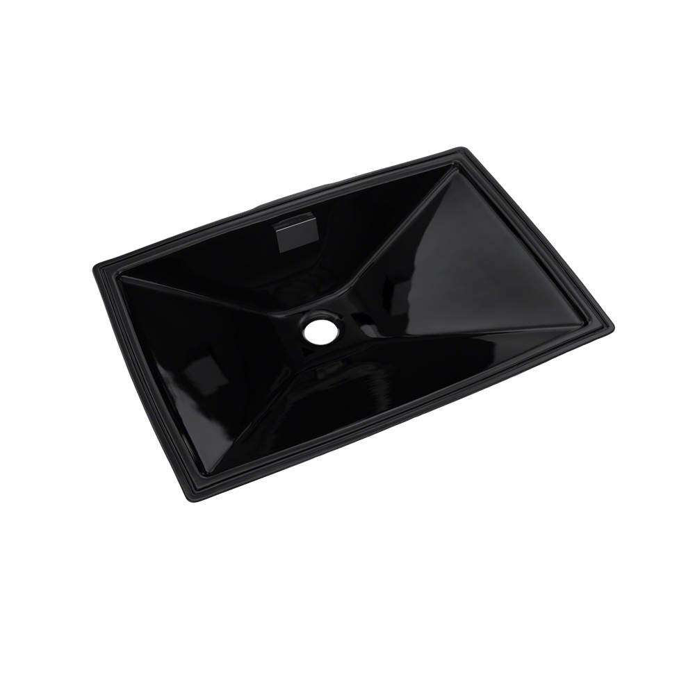Toto Lloyd® Rectangular Undermount Bathroom Sink, Ebony