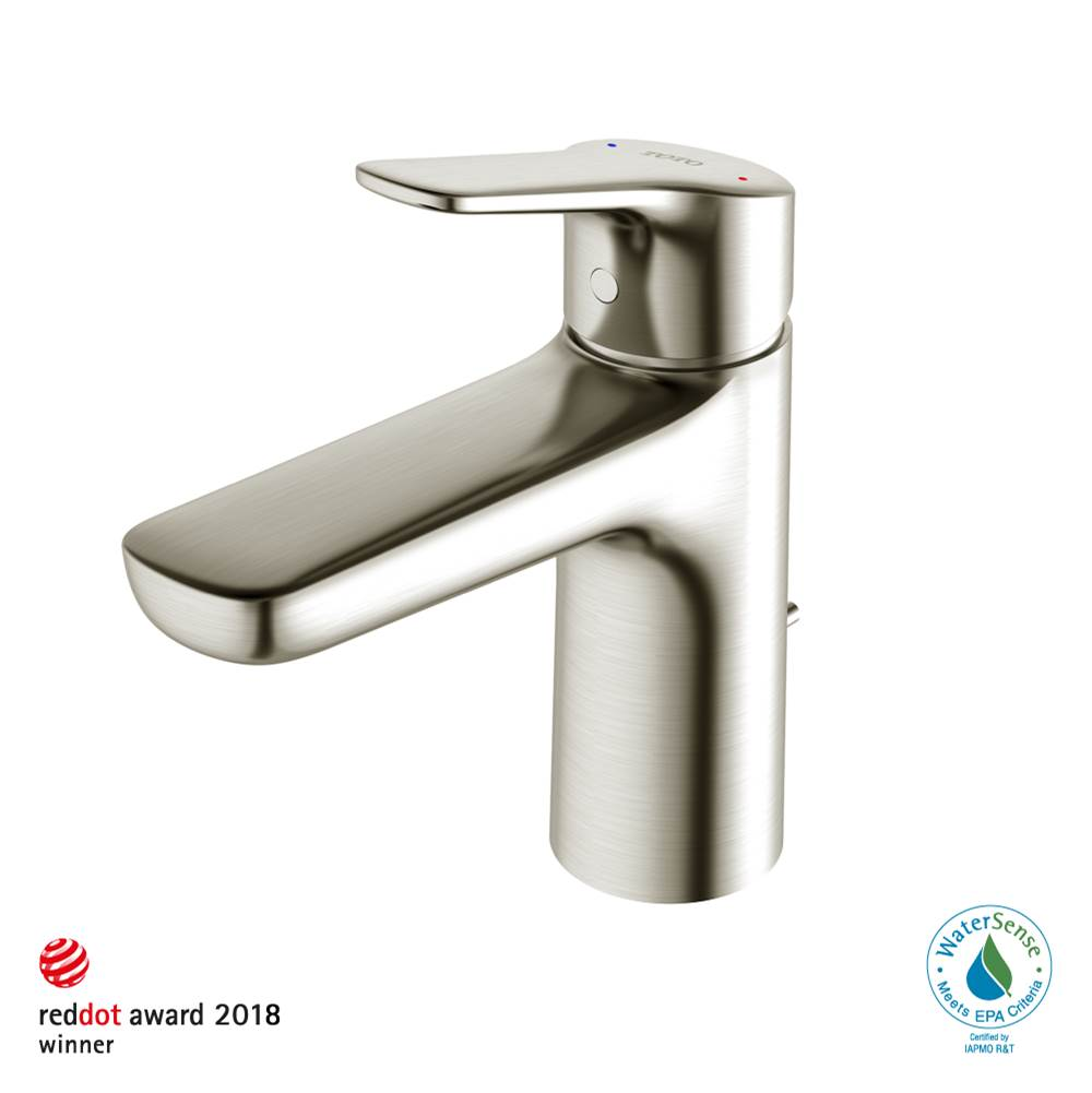 Toto GS 1.2 GPM Single Handle Bathroom Sink Faucet with COMFORT GLIDE™ Technology, Brushed Nickel