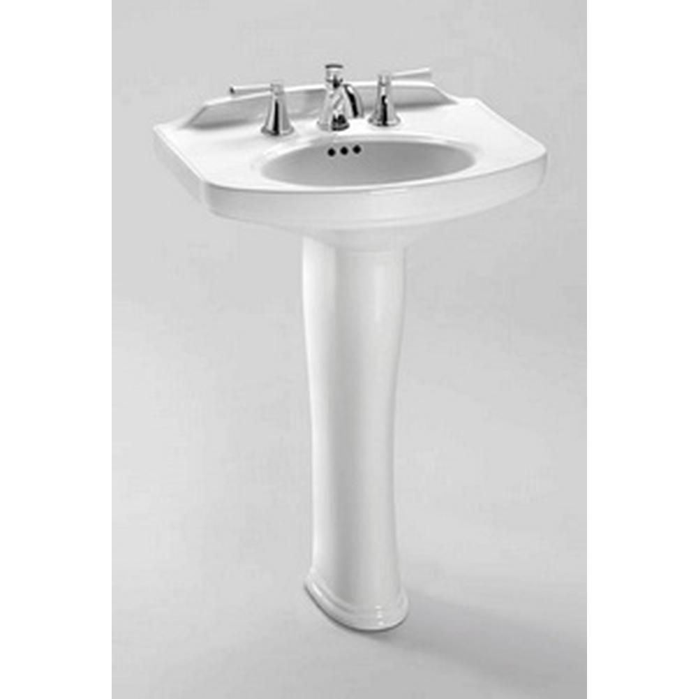 Toto Dartmouth Pedestal Lavatory 8'' Hole Faucet Spacing