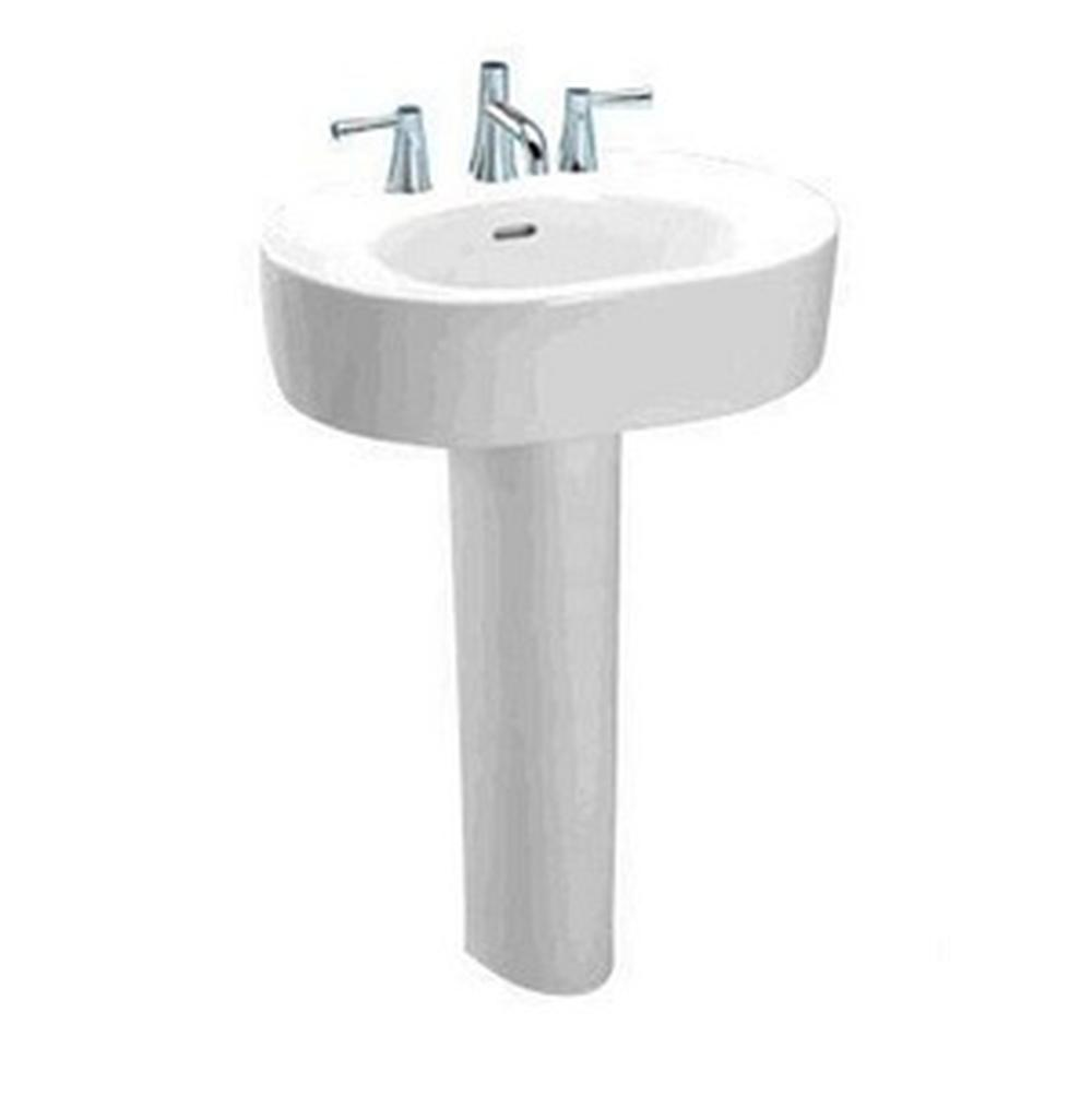 Toto Nexus Pedestal Lavatory 4'' Hole Spacing - Cotton