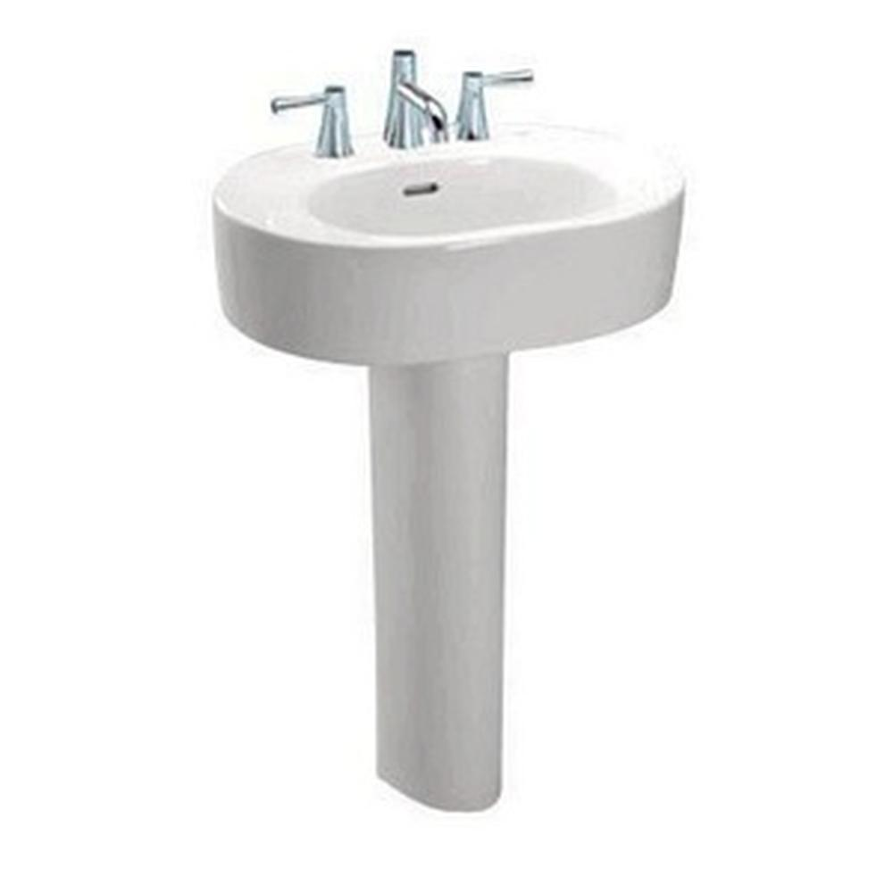 Toto Nexus Pedestal Lavatory 8'' Hole Spacing - Colonial White