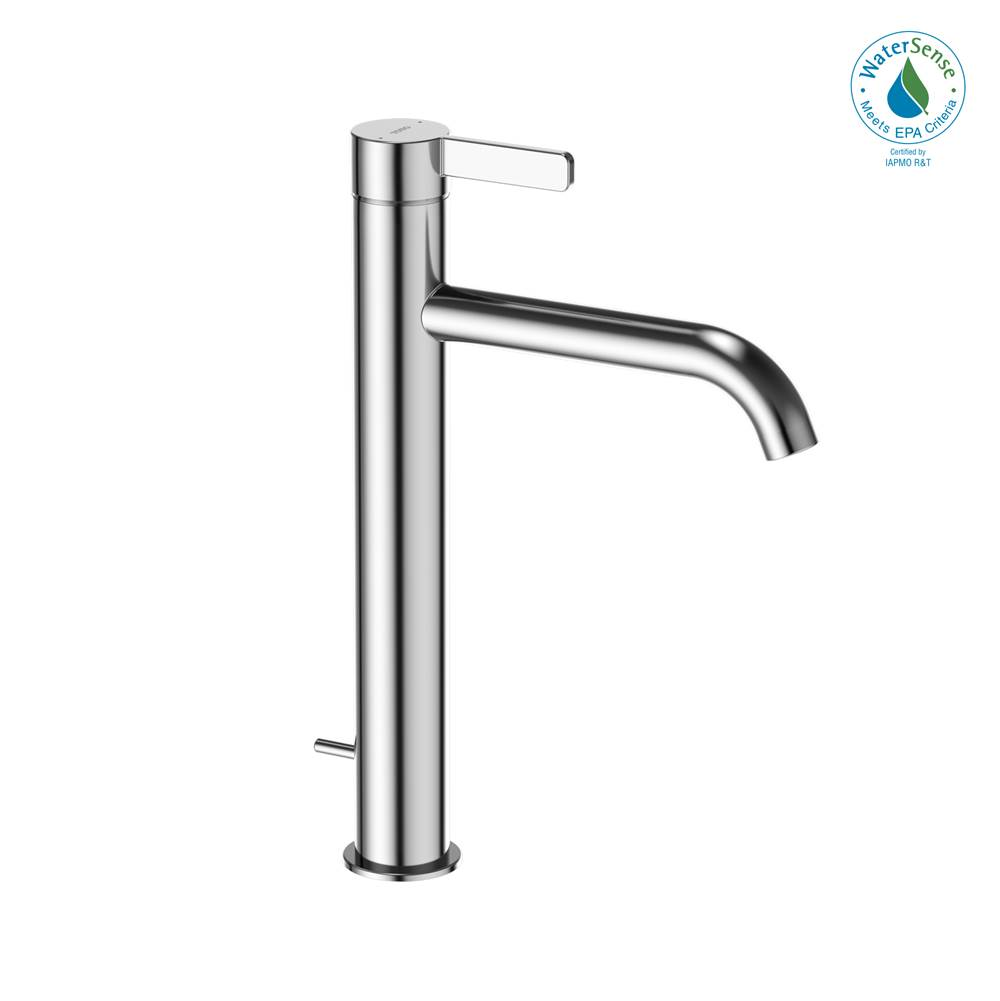 Toto GF 1.2 GPM Single Handle Vessel Bathroom Sink Faucet with COMFORT GLIDE Technology, Polished Chrome