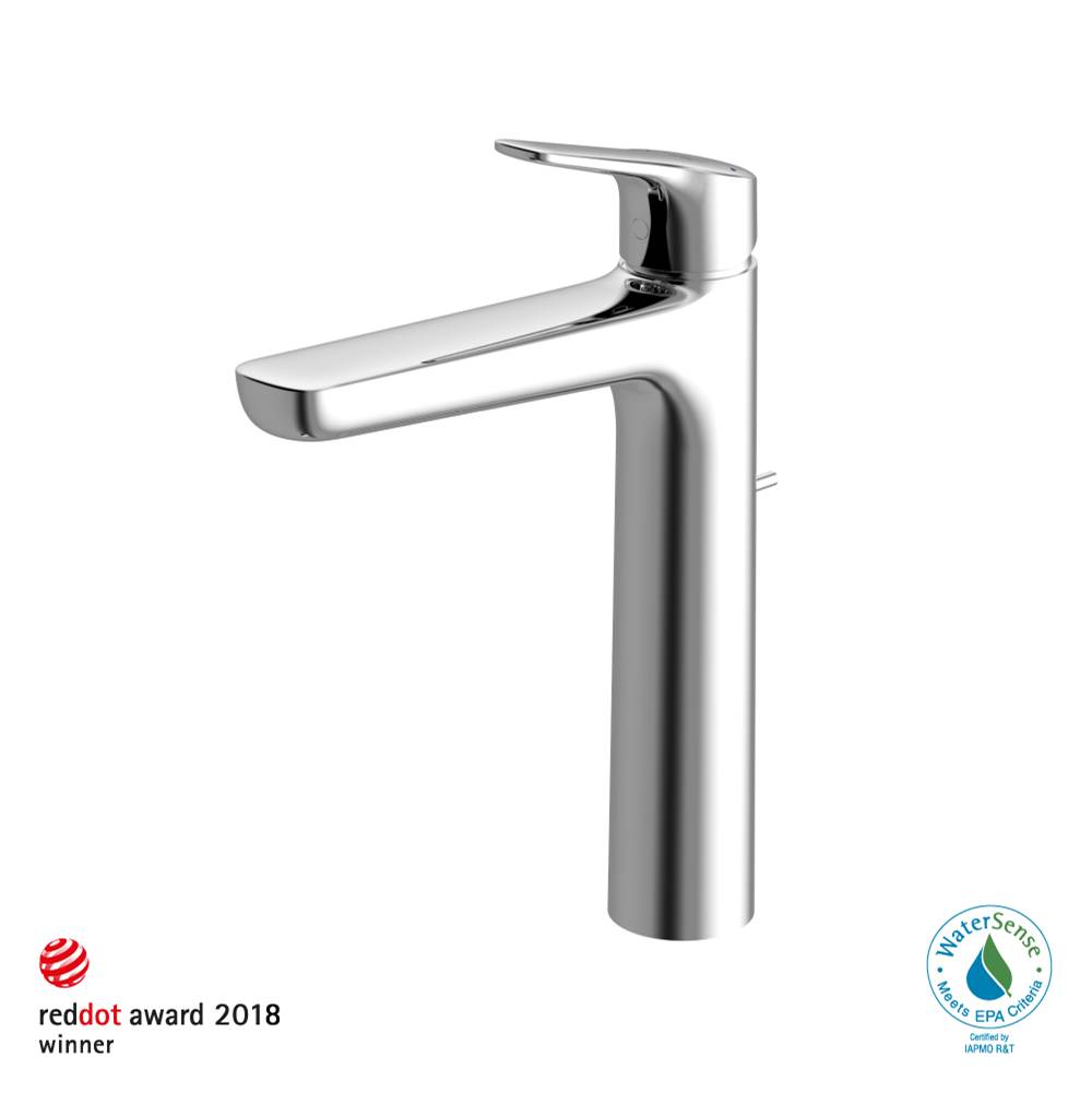 Toto GS 1.2 GPM Single Handle Vessel Bathroom Sink Faucet with COMFORT GLIDE™ Technology, Polished Chrome