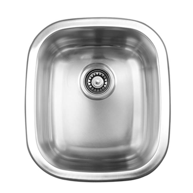 Ukinox Single Bowl 15'' Dual Mount