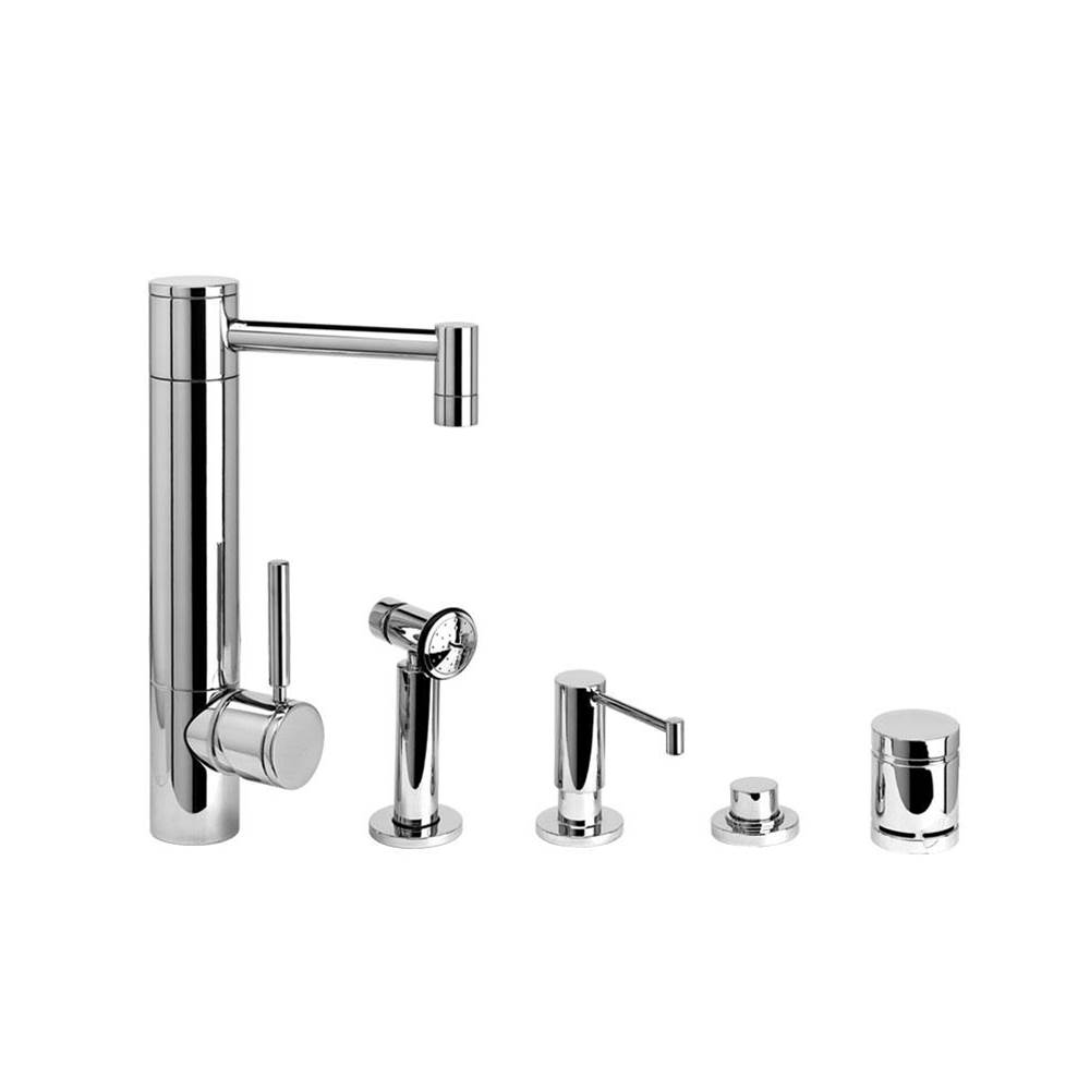 Waterstone Hunley Prep Faucet - 4Pc. Suite