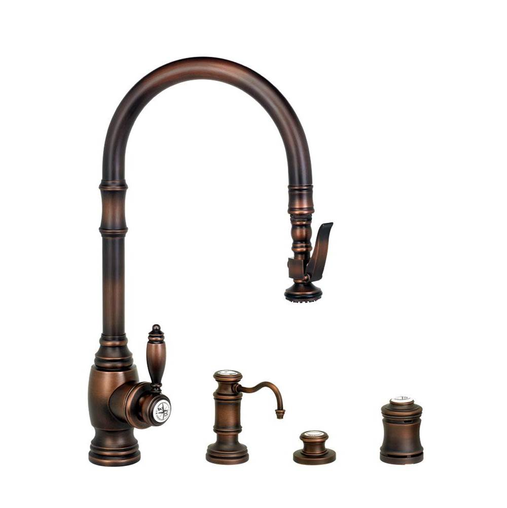 Waterstone Traditional Plp Pulldown Faucet - 4Pc. Suite