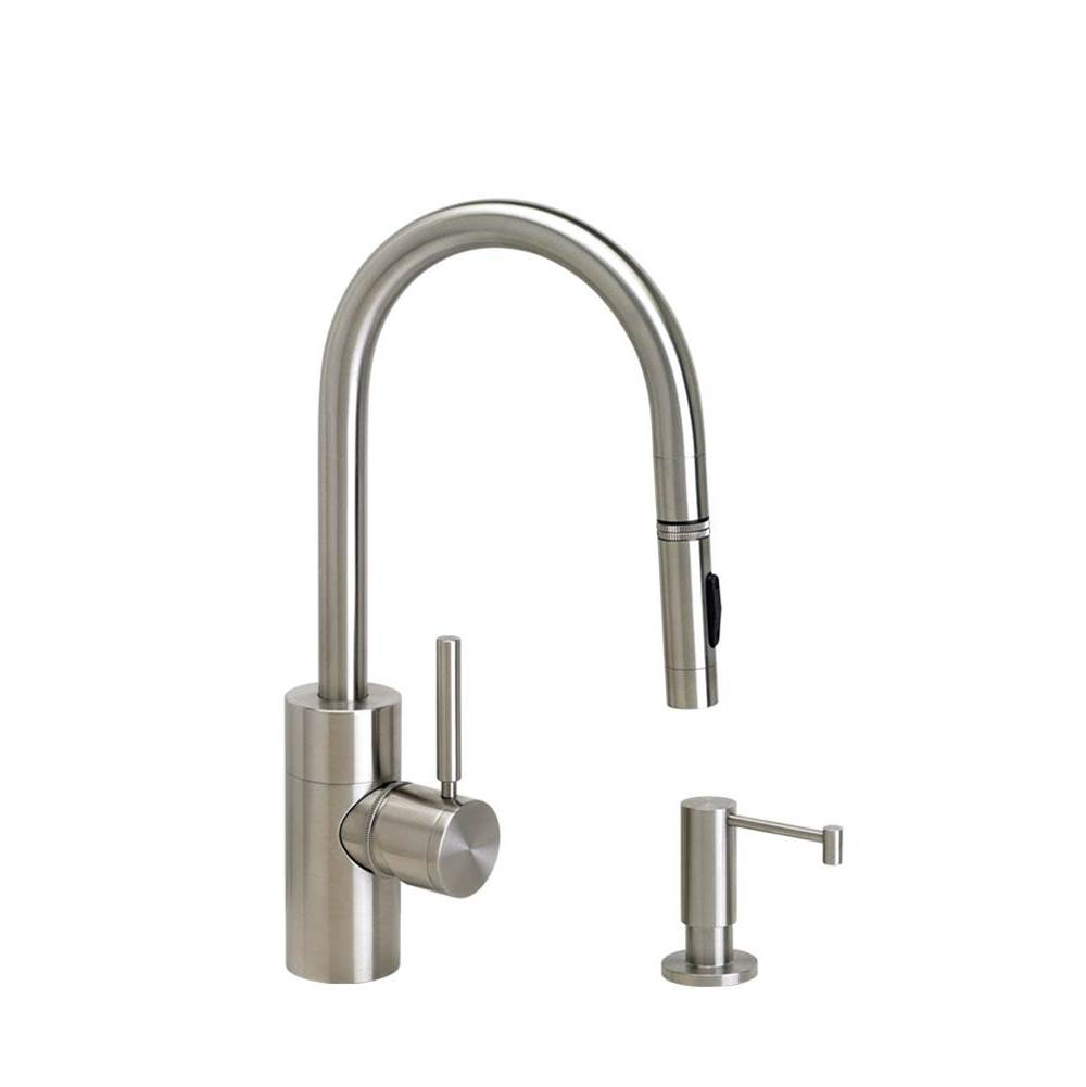Waterstone Contemporary Prep Size Plp Pulldown Faucet - Toggle Sprayer - 2Pc. Suite
