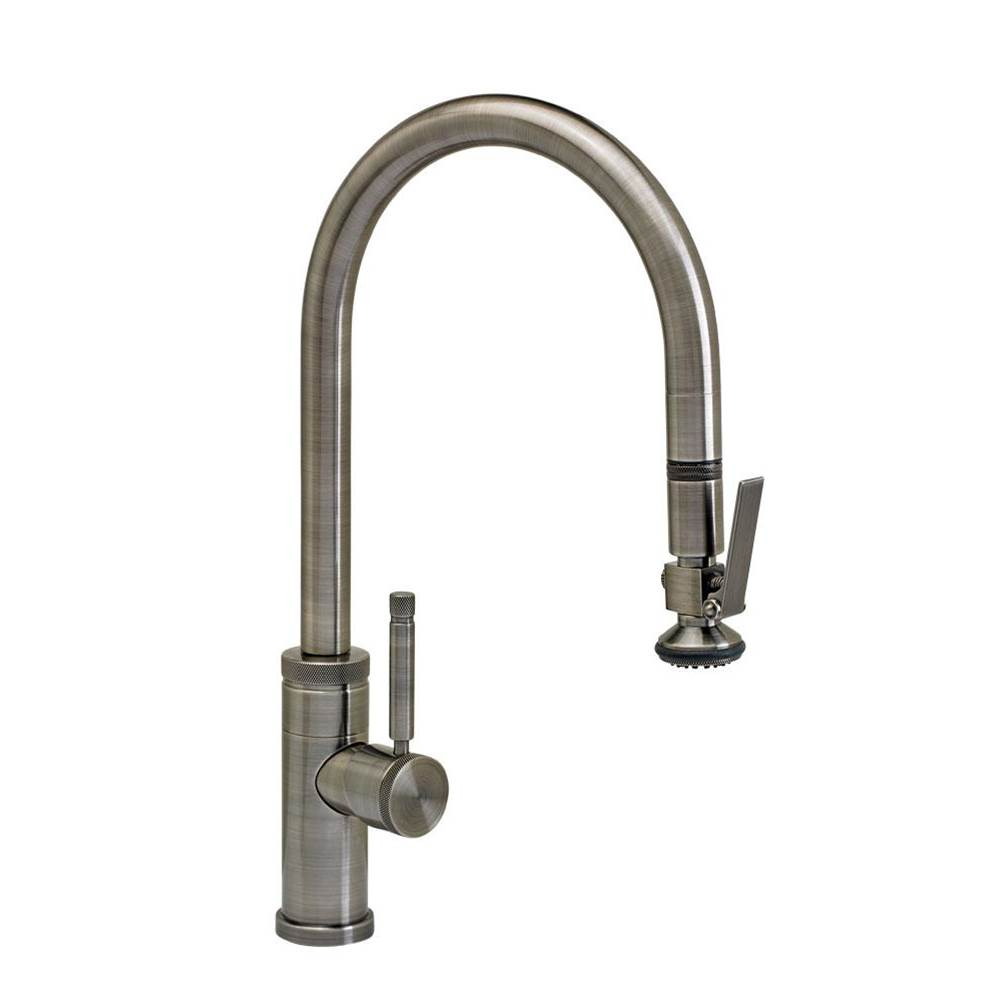 Waterstone Industrial Plp Pulldown Faucet - Lever Sprayer