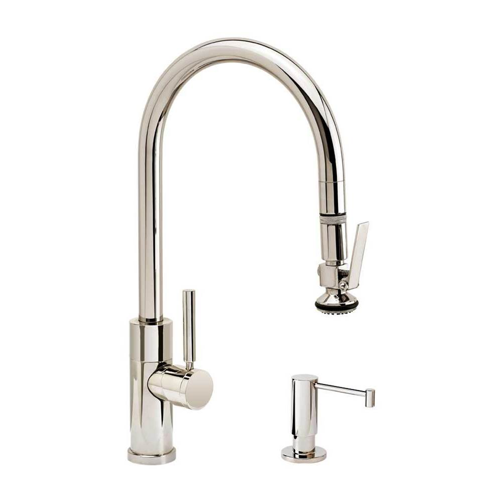 Waterstone Modern Plp Pulldown Faucet - Lever Sprayer - 2Pc. Suite